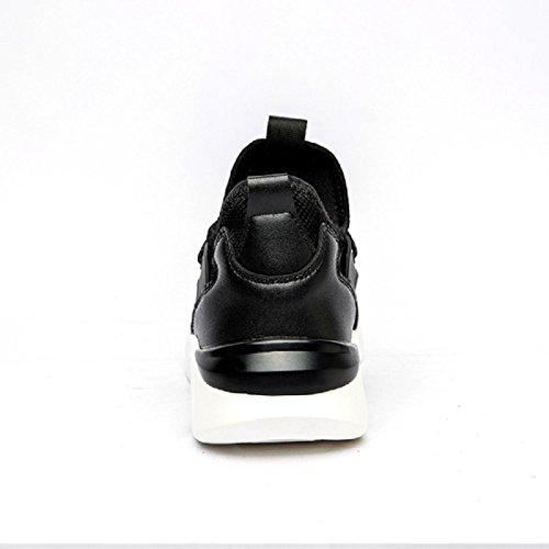 Uomo Moda Scarpe sportive traspirante Scarpe da corsa formatori Ballerine All'aperto Scarpe da trekking euro DIMENSIONE 39-44 black