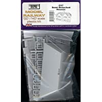 Dapol - Kit de plástico para casas, semitransparentes, escala OOC 1/76