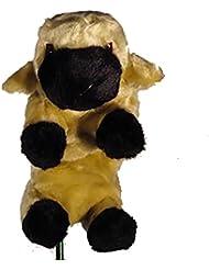 essepiemme Golf–coprilegno forme de mouton en polyester, flax, selon norme CE