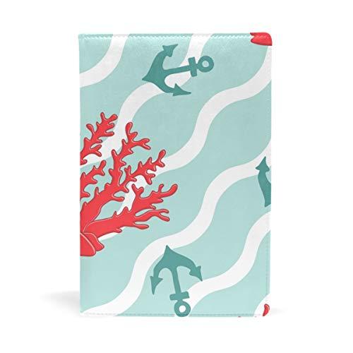 EZIOLY Bucheinband, dehnbar, passend für die meisten Hardcover-Lehrbücher bis 22,9 x 14,5 cm, klebstofffreier Stoff Einfach anzubringen. Wash & Re-Use