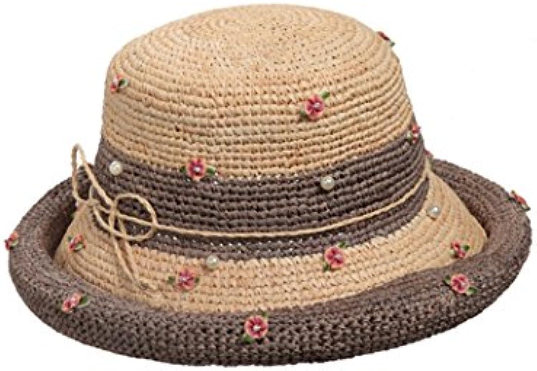 Cappello Cappello da sole Estate Femminile Cappello Cappello di Paglia  Grandi gronda Sun Prossoezione Solare Parent 97eaa6 4afd6e277da8