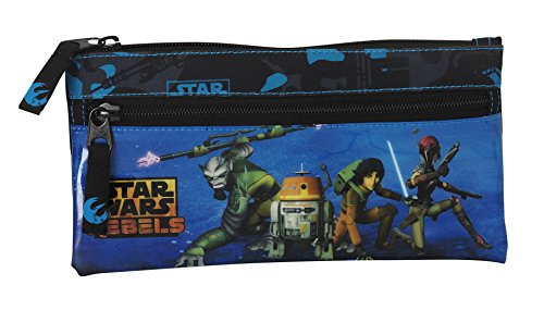 Star Wars – Portatodo Doble, 22 x 11 cm (SAFTA 811413029)