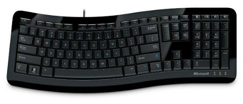 Microsoft 3TJ-00024 Comfort Curve 3000 Tastatur (Schweiz/Deutsch) schwarz