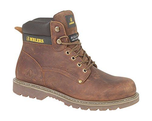 Amblers Lace-Up Textile Lined Mens Boots -