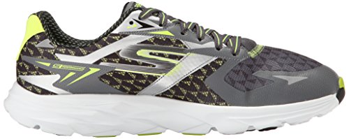 Skechers (SKEES) Go Run Ride 5, baskets sportives homme gris (CCLM)