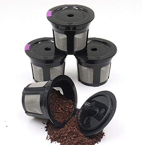 ELECTROPRIME Refillable Coffee Pods Capsule Reusable for Keurig Machine Tool K-Cups Filters