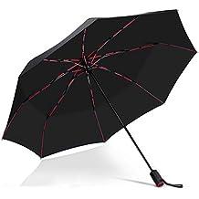 Taschenlampe,Blau Leuchtende Dach ZHUDJ Besonders Kreative F/ührte Wei/ßes Licht Schirm Transparenten Regenschirm Schirm Licht Lange Mit Pers/önlichen Regenschirm Geschenk
