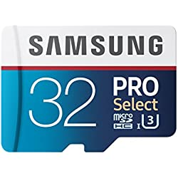 Samsung PRO Select Micro SDXC Memory Card, 32GB, 95MB/s (MB-MF32DA/AM)