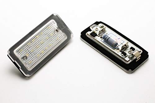 2 x luci di targa LED CANBUS F. 500/595/695 500C 595C 695C 312