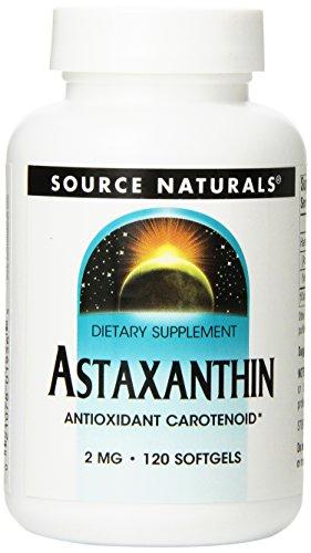Source Naturals - Astaxanthine 2 mg - 120 Gélules