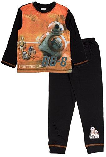 Disney-Star-Wars-Schlafanzug/Pyjama-Set für Jungen - Größe: 4–10Jahre Gr. 5-6 Jahre , Star Wars - Driods - BB-8