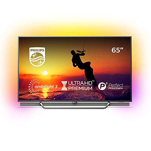 Philips Ambilight 65PUS8602/12 Fernseher 164 cm (65 Zoll) LED Smart TV (4K UHD, HDR Perfect, DTS HD Premium Sound, Android TV, Google Play Store)