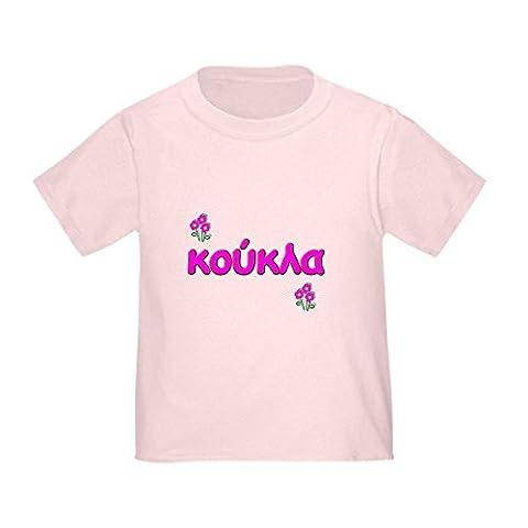 CafePress - Greek little Doll - Koukla Toddler T-Shirt -