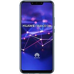 Huawei Mate20Lite 4 GB/64 GB Dual SIM Smartphone - Sapphire Blue (West European)