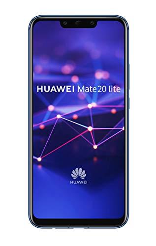 "Huawei Mate 20 Lite 6.3"" Ranura híbrida Dual SIM 4G 4GB 64GB 3750mAh Azul - Smartphone (16 cm (6.3""), 64 GB, 20 MP, Android, 8.1 + EMUI 8.2, Azul)"