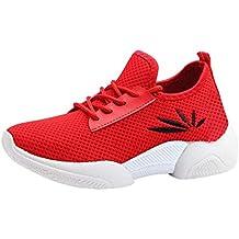 QUICKLYLY Zapatillas Deportivas Mujer/Hombres Running Zapatos Deporte Corriendo Calzado Casual Seguridad Deportivo Damas Antideslizante
