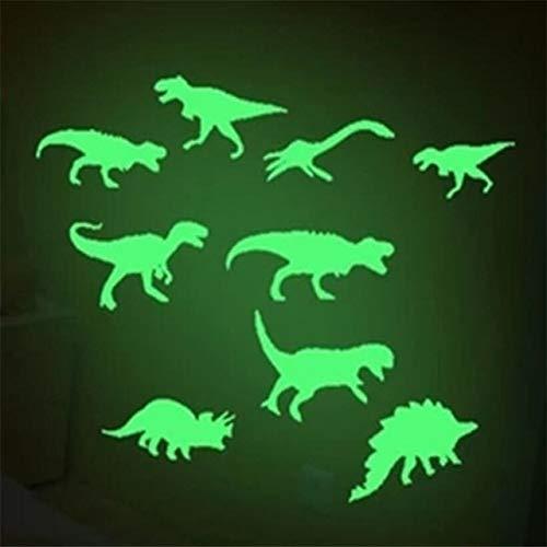 DishyKooker 9 Unidades/Juego de Pegatinas de Dinosaurio Que...