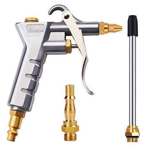"""Astarye Druckluftpistole Luftblaspistole Luftkompressor Staubtuch für 1/4""""NPT & 1/4"""" BSP Hochdruck Ausblaspistolen Pressluft Blaspistole Pneumatische Reinigungswerkzeug"""