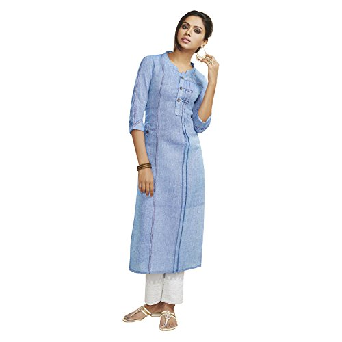 Payal Women's Blue and White Suit