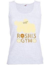 GIOVANI & RICCHI Damen Roshis Gym Tank Top Fitness Shirt in verschiedenen Farben
