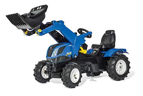 Rolly Toys rollyFarmtrac New Holland (Sitz verstellbar, Luftbereifung, Alter 3-8 Jahre, Front- und Heckkupplung) 611270