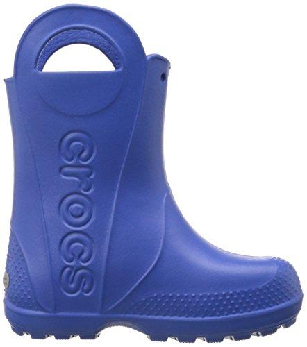 Rain Jungen crocs Blau It Gummistiefel Boot Blue Sea Handle qaqxtd1wB