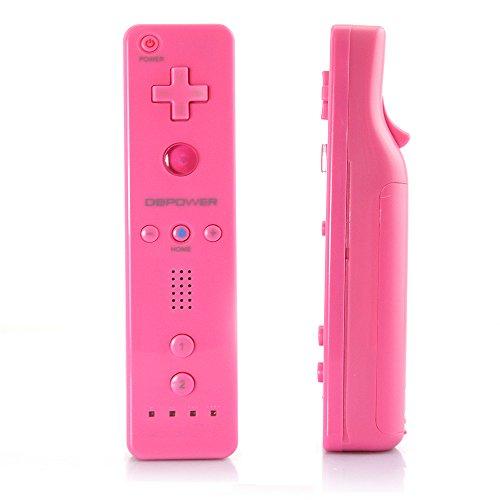 Db Power Remote Kontroller mit Nunchuk kompatibel mit Wii Rosa (Rosa Für Xbox 360 Konsole)