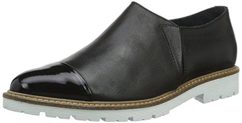 Shoe Biz Becca, Mocassini Donna, Nero (Patent Velvet Black), 39 EU