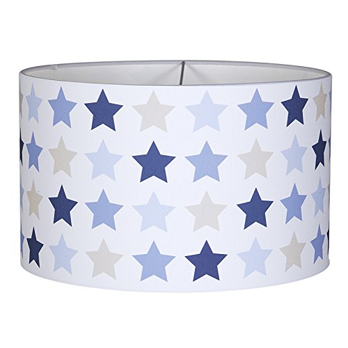 Little Dutch Deckenlampe mixed stars blue - blau/beige