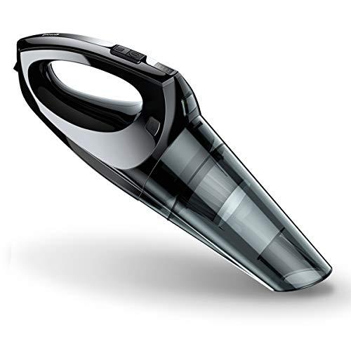 Akku Handstaubsauger, Baseus 5000Pa 13.4V Lithum-ion Akku Auto Staubsauger Kabellos mit LED-Licht Starke Zyklonabsaugung für Autos Zuhause