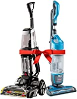Ramadan Special Bundle: Bissell Proheat 2X Revolution Cleanshot Corded Upright Vacuum Cleaner, 2066E + Bissell...
