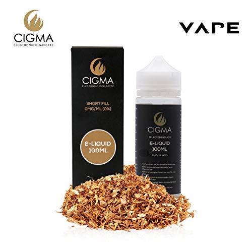 CIGMA USA Tabaco 100ml E Liquido 0mg | Nuevas botellas