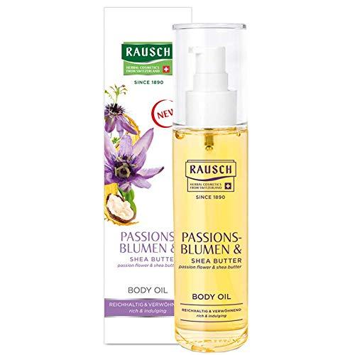 Rausch Passionsblumen BODY OIL für geschmeidige und samtweiche Haut, 1er Pack(1 x 100 milliliters)