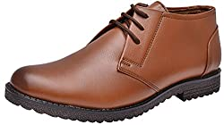 John Karsun Mens Tan Leather Oxford Shoes - 9 UK