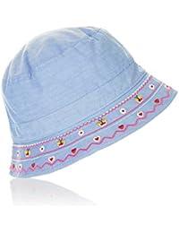 Accessorize Chapeau en chambray brodé - Fille