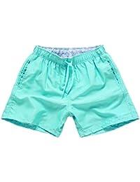 Hombres Bañador Deportes Pantalones Cortos de Playa Shorts Bermudas de Baño