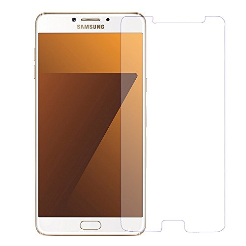 Mobilix For C7_Pro Tempered Glass Screen Protector Toughened Glass With 9h Hardness For Samsung Galaxy C7 Pro Tempered Glass