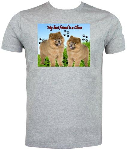 chow-chow-dog-t-shirt-medium-grey