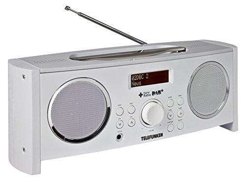 Telefunken RD1001 Radio Digital (sintonizador PLL, Dab+, Radio FM, Entrada Auxiliar, RDS, Funciona con Pilas/Electricidad)