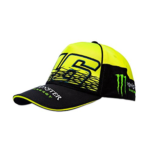 VR46 Herren Valentino Rossi Monster Cap Fluo Kappe, Gelb/Schwarz, One Size