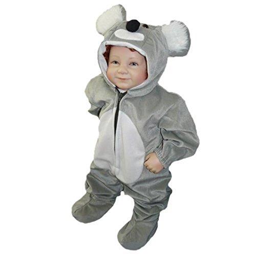 Koala- Kostüm-e Baby J42 Gr.68-74, Kat. 1, Achtung: B-Ware Artikel. Bitte Artikelmerkmale lesen! kleine Kind-er Babies Tier-e Mädchen Junge-n Fasching-s Karneval-s Fasnacht-s Geburtstags- Geschenk-