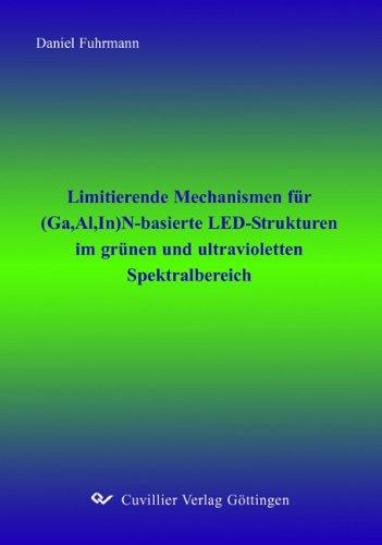 Limitierende Mechanismen für (Ga,Al,In)N-basierte LED-Strukturen im grünen und ultravioletten Spektralbereich