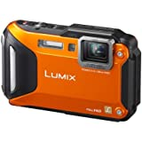 Panasonic DMC-FT5EG9-D Lumix Digitalkamera (7,5 cm (3 Zoll) LCD-Display MOS-Sensor, 16,1 Megapixel, 4,6-fach opt. Zoom, microHDMI, USB, bis 13m wasserdicht) orange