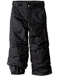 Columbia Skihose Starchaser Peak II Pants - Pantalón interior térmico para niña, color negro, talla Large