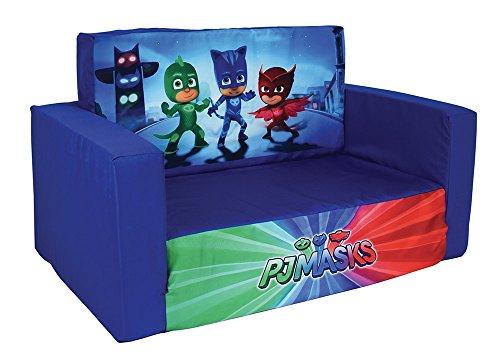 FUN HOUSE 712964 PYJAMASQUES Canapé Convertible pour Enfant Polyester 65 x 40 x 39 cm