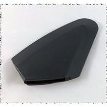 Original Punta de espátula Punta de raspador Accesorios Encaje para Thermomix TM21 Vorwerk NUEVO 21 TM negro Plástico Plástico