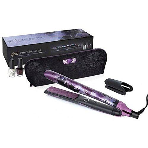 GHD Limited Edition regalo set Platinum Nocturne Styler Piastra per capelli & 2X O P I smalto per unghie