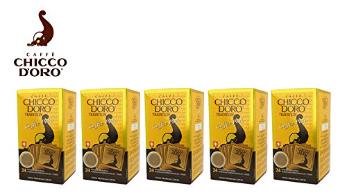 Caffè Chicco d'Oro Tradition - 5 x 24 Kaffeepads
