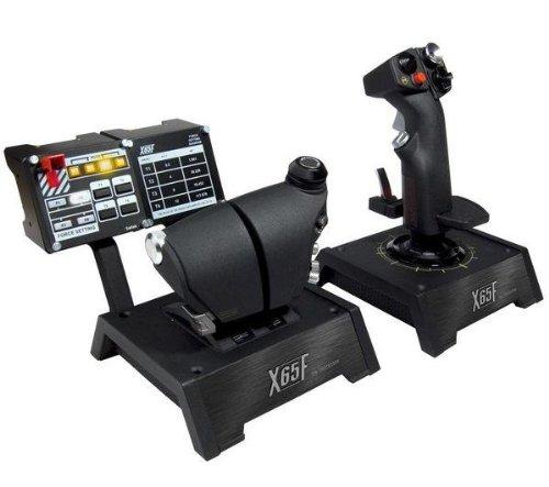 SAITEK Joystick X65F Control System Für PC + 3 JAHRE GARANTIE