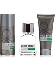 Benetton United Dreams Man Aim High Colonia + Aftershave + Desodorante - 1 Pack